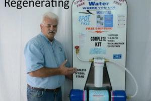 Regenerating the Softener